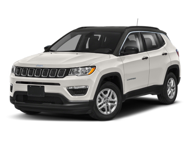 new White 2020 Jeep Compass Latitude w/Sun/Safety Pkg 4x2 with Black Interior located in Brownsville